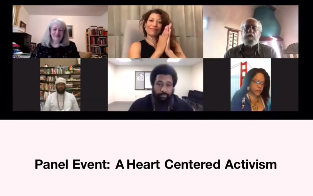 Panel Event: A Heart-Centered Activism – RECORDING AVAILABLE!